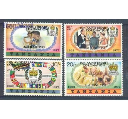 Znaczek Tanzania 1978 Mi 99-102I Czyste **