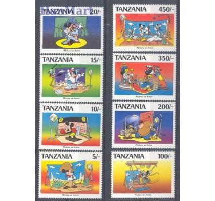 Znaczek Tanzania 1991 Mi 824-831 Czyste **