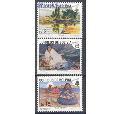 Znaczek Boliwia 1991 Mi 1155-1157 Czyste **