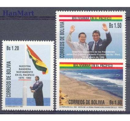 Znaczek Boliwia 1992 Mi 1160-1162 Czyste **