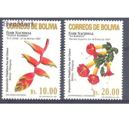 Znaczek Boliwia 2001 Mi 1467-1468 Czyste **