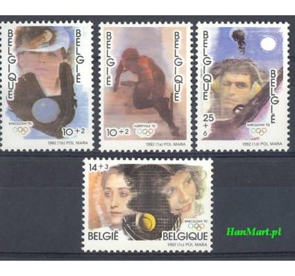 Znaczek Belgia 1992 Mi 2491-2494 Czyste **
