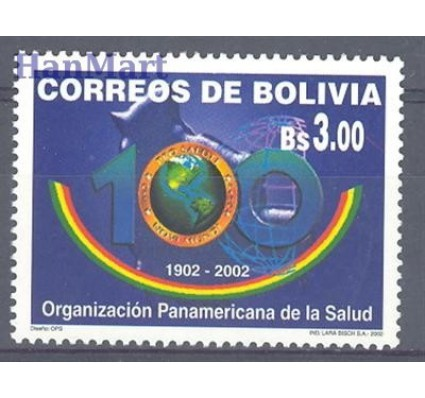 Znaczek Boliwia 2002 Mi 1534 Czyste **