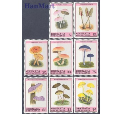 Grenada i Grenadyny 1989 Mi 1191-1198 Czyste **