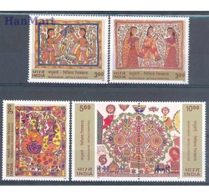 Znaczek Indie 2000 Mi 1786-1790 Czyste **