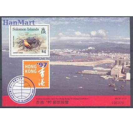 Znaczek Wyspy Salomona 1997 Mi bl 47 Czyste **
