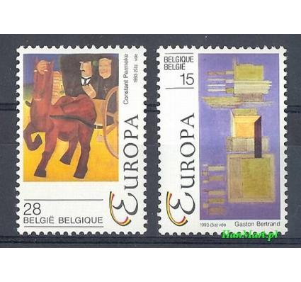 Znaczek Belgia 1993 Mi 2553-2554 Czyste **