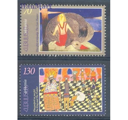 Znaczek Armenia 2000 Mi 373-374 Czyste **