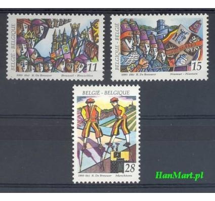 Znaczek Belgia 1993 Mi 2561-2563 Czyste **