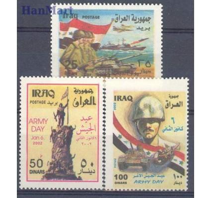 Znaczek Irak 2002 Mi 1667-1669 Czyste **