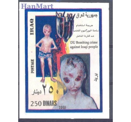 Znaczek Irak 2001 Mi bl 98 Czyste **