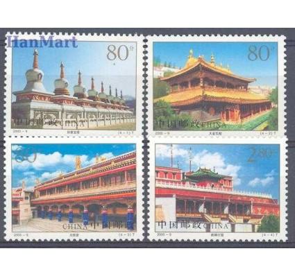 Znaczek Chiny 2000 Mi 3143-3146 Czyste **