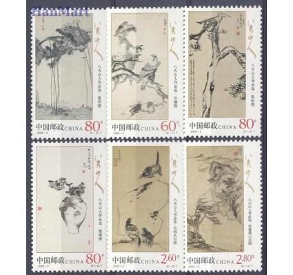 Znaczek Chiny 2002 Mi 3310-3315 Czyste **