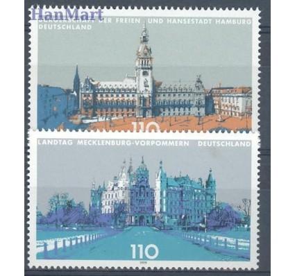 Znaczek Niemcy 1999 Mi 2036-2037 Czyste **