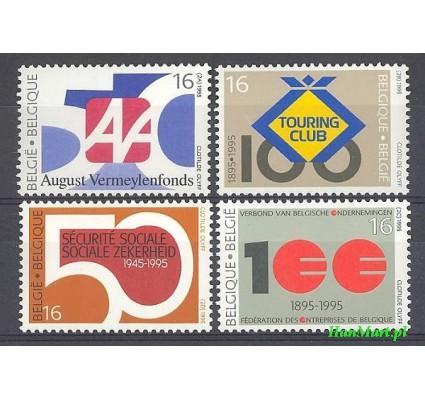 Belgia 1995 Mi 2637-2640 Czyste **