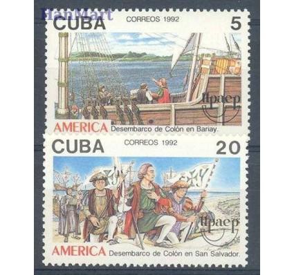 Znaczek Kuba 1992 Mi 3569-3570 Czyste **