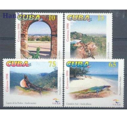 Znaczek Kuba 1998 Mi 4150-4153 Czyste **