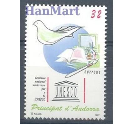 Znaczek Andora Hiszpańska 1997 Mi 254 Czyste **
