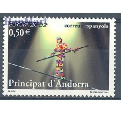Znaczek Andora Hiszpańska 2002 Mi 290 Czyste **