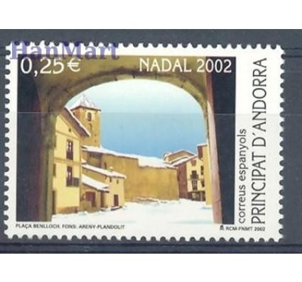 Znaczek Andora Hiszpańska 2002 Mi 295 Czyste **