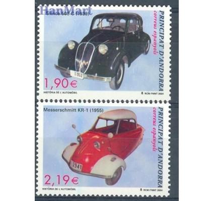 Znaczek Andora Hiszpańska 2004 Mi 314-315 Czyste **