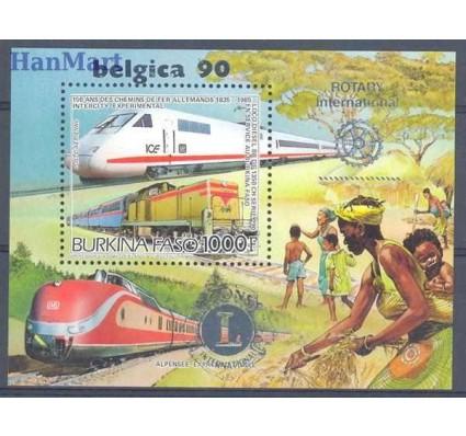 Znaczek Burkina Faso 1986 Mi bl 120I Czyste **