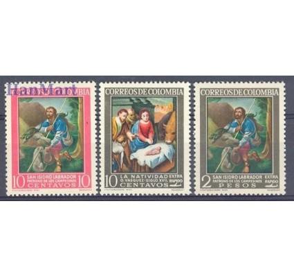 Kolumbia 1962 Mi 1029-1031 Czyste **