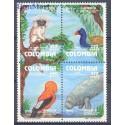 Kolumbia 1993 Mi 1912-1915 Czyste **