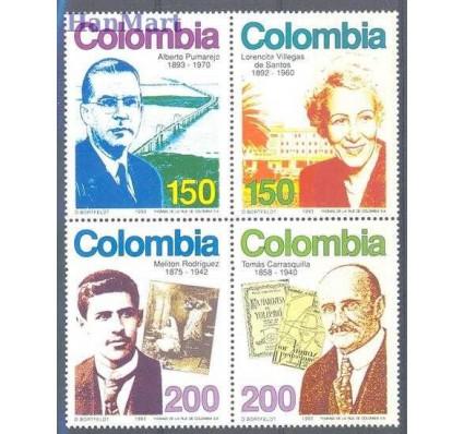 Znaczek Kolumbia 1993 Mi 1916-1919 Czyste **