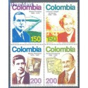 Kolumbia 1993 Mi 1916-1919 Czyste **