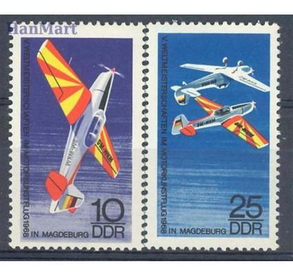 Znaczek NRD / DDR 1968 Mi 1391-1392 Czyste **