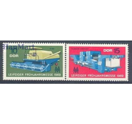 Znaczek NRD / DDR 1969 Mi 1448-1449 Czyste **