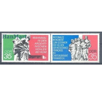 Znaczek NRD / DDR 1974 Mi 1981-1982 Czyste **