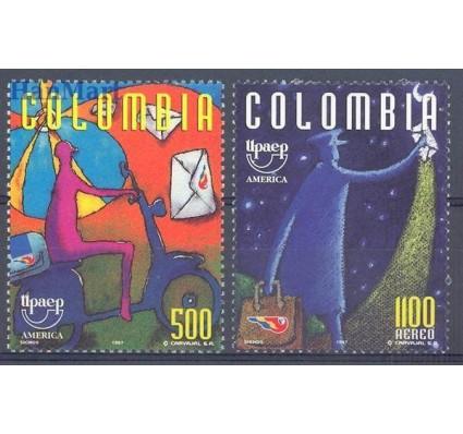 Znaczek Kolumbia 1997 Mi 2080-2081 Czyste **