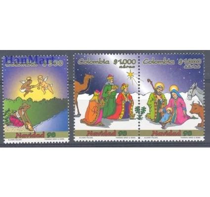 Znaczek Kolumbia 1998 Mi 2100-2102 Czyste **