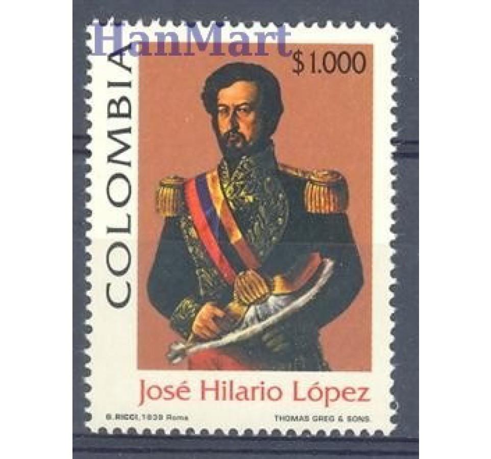 Kolumbia 1999 Mi 2118 Czyste **