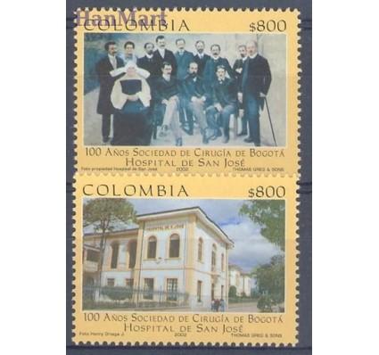 Znaczek Kolumbia 2002 Mi 2200-2201 Czyste **