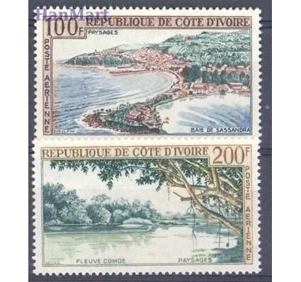 Znaczek Wybrzeże Kości Słoniowej 1963 Mi 248-249 Czyste **