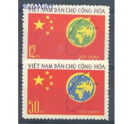 Znaczek Wietnam 1971 Mi 648-649 Czyste **