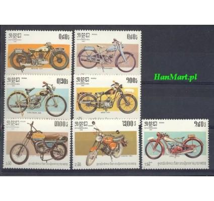 Znaczek Kambodża 1985 Mi 640-646 Czyste **