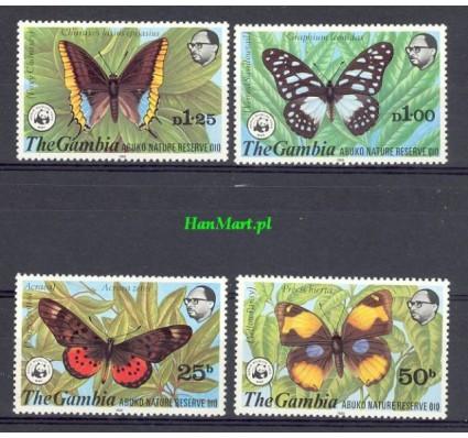 Znaczek Gambia 1980 Mi 402-405 Czyste **