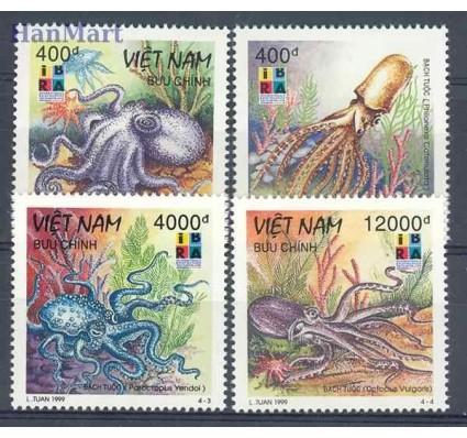 Znaczek Wietnam 1999 Mi 2985-2988 Czyste **