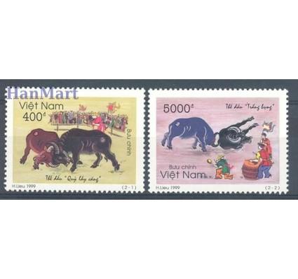Znaczek Wietnam 1999 Mi 3018-3019 Czyste **