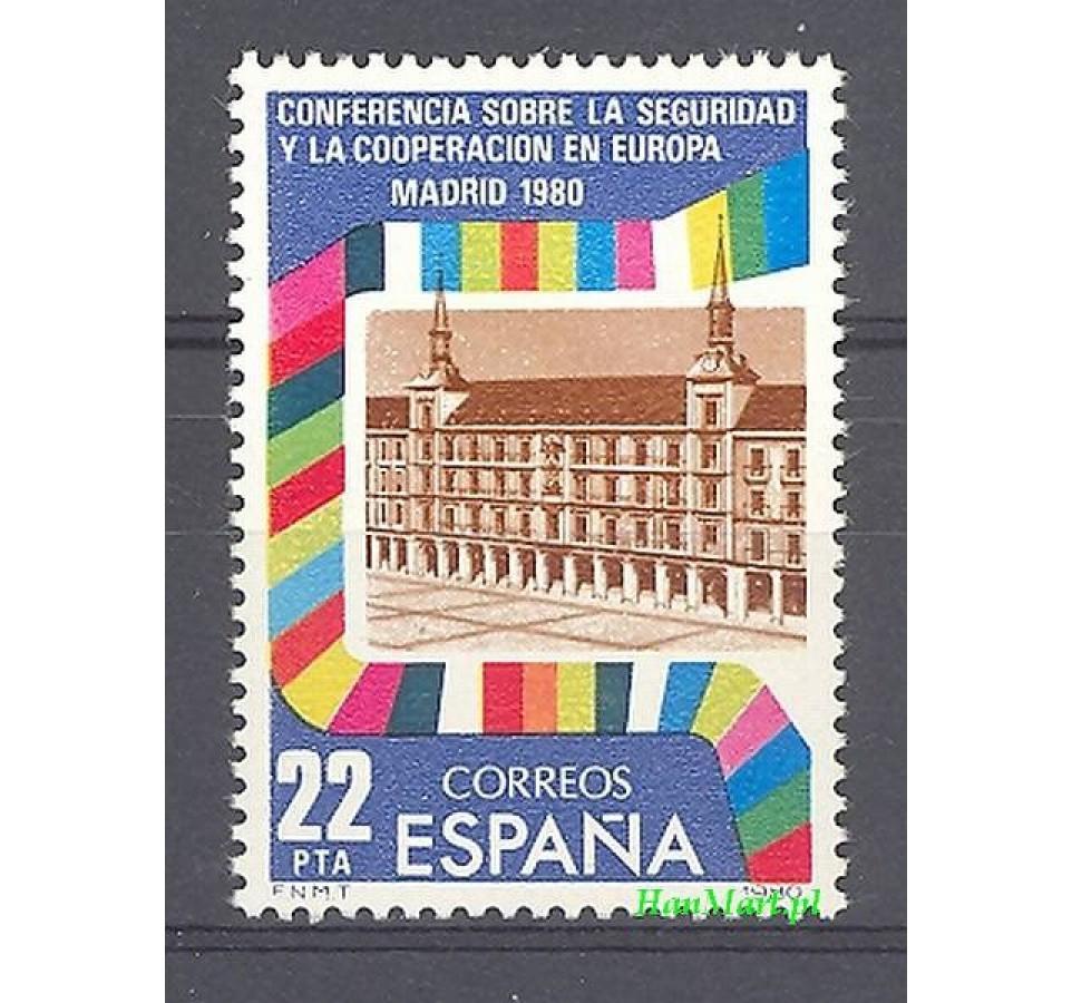 Hiszpania 1980 Mi 2482 Czyste **