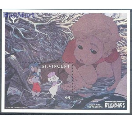 Znaczek St. Vincent 1991 Mi bl 191 Czyste **