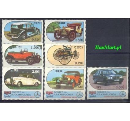 Znaczek Kambodża 1986 Mi 762-768 Czyste **