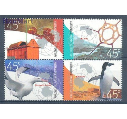 Znaczek Australijskie Terytorium Antarktyczne 2002 Mi 149-152 Czyste **
