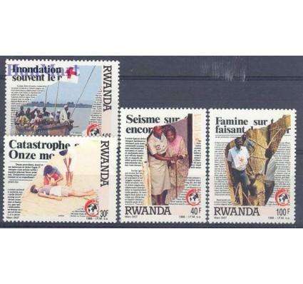 Znaczek Rwanda 1988 Mi 1403-1406 Czyste **