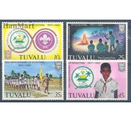 Znaczek Tuvalu 1982 Mi 166-169 Czyste **