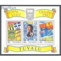 Tuvalu 1982 Mi bl 7 Czyste **